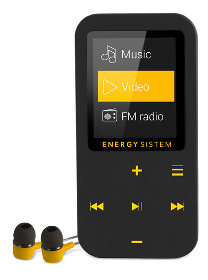 Mp4 Energy Sistem Touch Bluetooth 16gb Amber