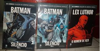 Hq Eaglemoss Dc Comics - Alguns Volumes