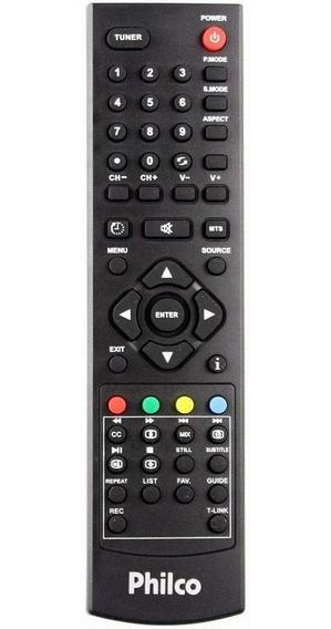 Controle Remoto Tv Philco Lcd Led Original Todas Tvs