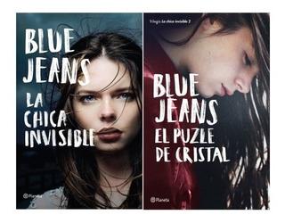 Pack La Chica Invisible (2 Libros) - Blue Jeans - Planeta