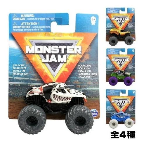 Imagen 1 de 3 de Monster Jam - Mini Vehiculo A Escala 1:70 Original