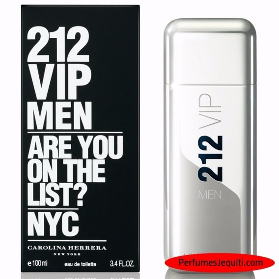 Herrera 212 Vip Men Edt 100ml 3.4oz