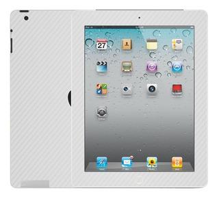 Skin Autoadhesivo iPad 1 2 3 4 Air Carbono