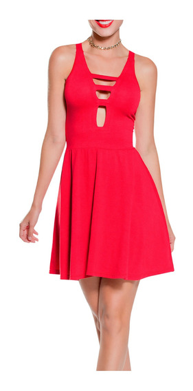 Vestido Corto Juvenil Femenino Marketing Personal 65437