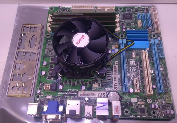 Kit Intel I5 3º Geração + Placa Mãe Sti B75 + 8gb Ddr3