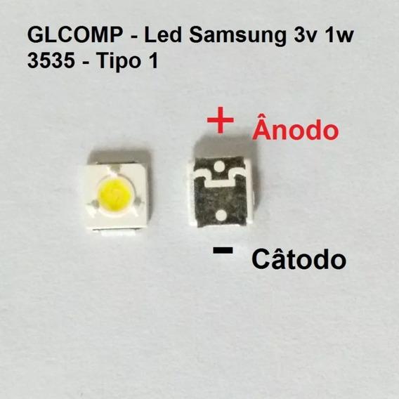 Kit 100 Pcs Led D 3535 3v 1w Un40f5500 Un40f6400