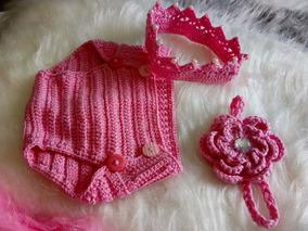 Kit 3 Roupinha Para Newborn Feminino