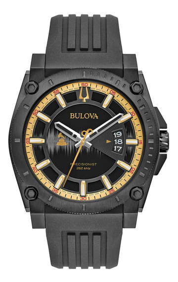 Relógio Masculino Bulova 98b294 Borracha