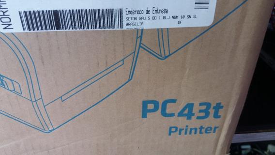 Impressora De Etiqueta Pc43t Nova