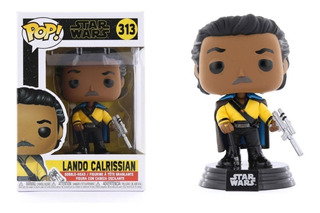 Muñeco Funko Pop Star Wars Landon Calrissian 313 Original!!