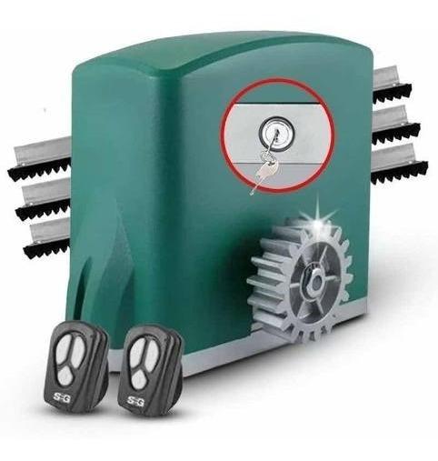 Kit Motor Portón Corredizo Seg Ch500 Automátización 500kg