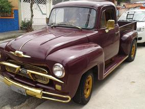 Pick Up Chevrolet Brasil 3100, Pickup Chevy Antiga Step Side