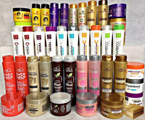 60 Produtos = Mascara + Shampoo + Condicionador Atacado!