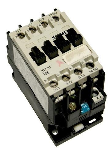 Contactor 20 Amp - Bobina 220v Siemens 3tf31 - Cod. 01007