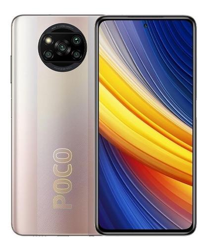 Celular Smartphone Xiaomi Poco X3 Pro 256gb Bronze - Dual Chip