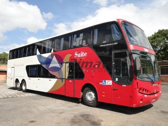 Ônibus Rodov. Dd Busscar Scania 380 Ano 07/07 57 Lug