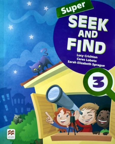 Super Seek And Find 3 Sb And Digital Pack - 2nd Ed
