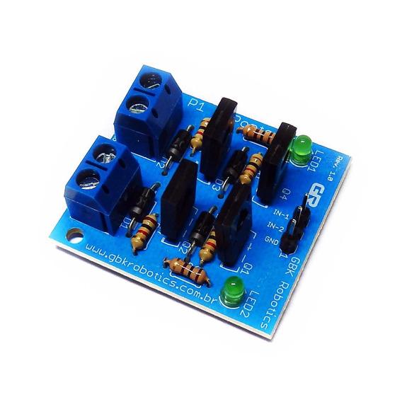Modulo Ponte-h P1 Gbk Robotics Arduino