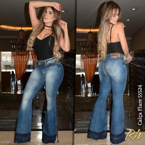 Calça Flare Rhero Jeans. Coleção 2018.