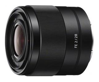 Lente Sony Fe 28mm F2 (sel28f20)