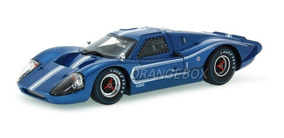 Ford Gt Mk Iv 1967 Shelby Collectibles 1:18 Azul Sc421