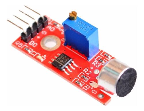 Imagen 1 de 8 de Sensor Ruido Ky-037 Sonido Módulo Detector Arduino Robotica