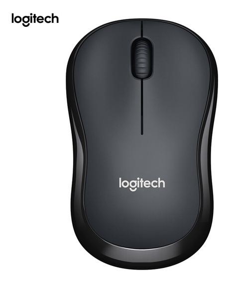 Logitech M220 Wireless Wifi Mouse Ergonômico Silencioso
