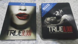 True Blood Blu-ray Combo Temp. 1 E 2 Semi Novo Excelente!