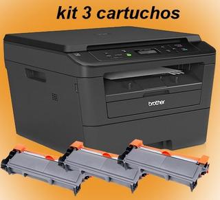 Multifuncional Brother 2520dw Wifi Duplex Kit 3 Toner 220v *ler O Anúncio Antes De Comprar*