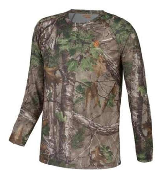 Camisa Camiseta Manga Larga Camouflage Camo Game Winner Cace