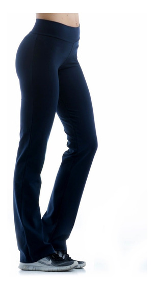 Calza Recta Negra Gris Especial Mujer Faja Fitness Talle 8