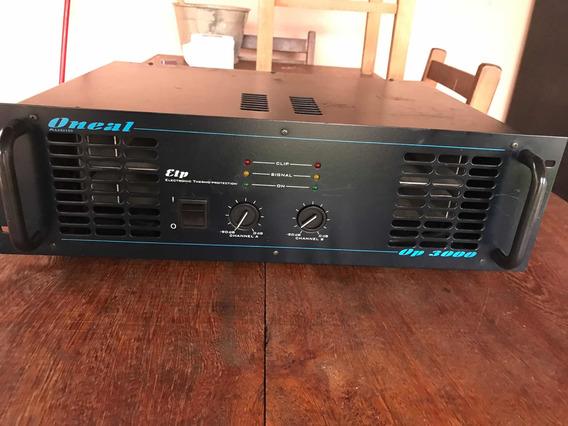 Amplificador Oneal Op 3000 700 Watts Rms