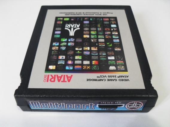 Atari 2600 Multicart Entrada De Cartão Muito Jogos = Harmony