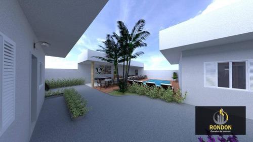 Casa Com 2 Dormitórios À Venda, 45 M² Por R$ 180.000 - Cibratel Ii - Itanhaém/sp - Ca1402