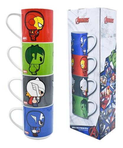 Tazas Avengers Apilables