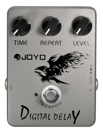 Pedal De Guitarra Joyo Digital Delay + Nf + Garantia