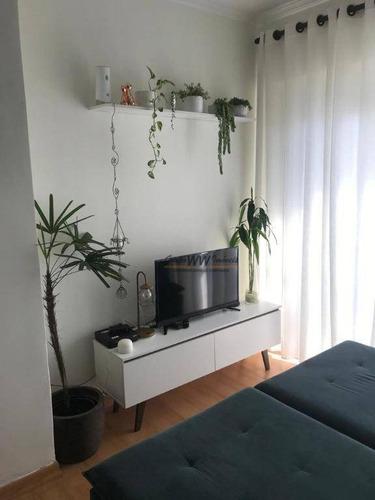 Apartamento À Venda, 54 M² Por R$ 312.000,00 - Lauzane Paulista - São Paulo/sp - Ap3116