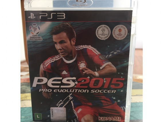 Jogo Playstation 3 Ps3 Pes 2015 Usado