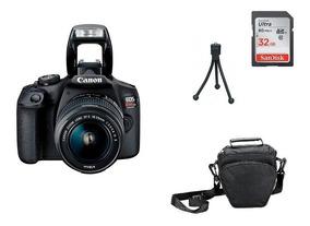 Kit Câmera Canon T7 - 18-55mm Garantia Novo