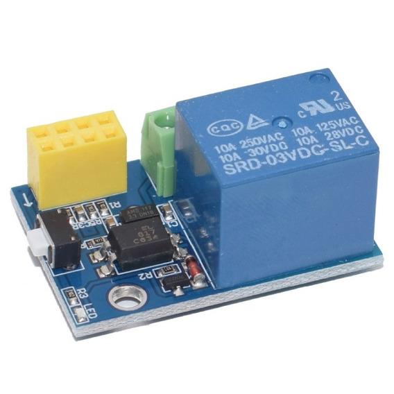 Módulo Relé V1.0 10a Para Esp8266 Esp-01 Esp01s