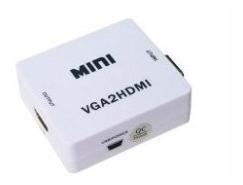 Conversor De Vga + Audio Plug 3.5mm A Hdmi H A H Nm-hd2