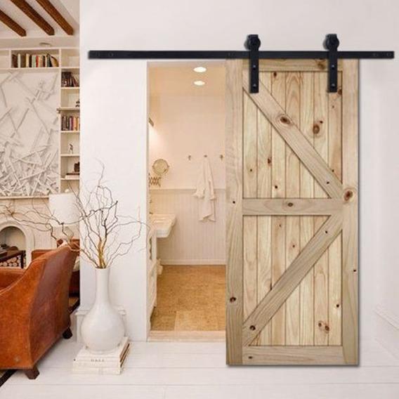 Puerta Barn Door - Establo Granero - Herraje Corrediza Mod2