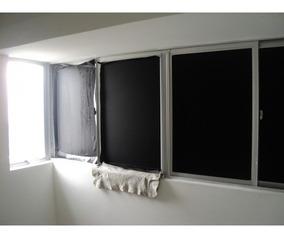Adesivo Película Blackout Preto Box Banheiro Vidros 100x75cm