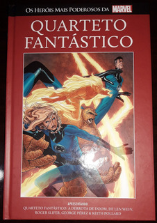 Livro Marvel Heroes Ed. 30 - Quarteto Fantástico