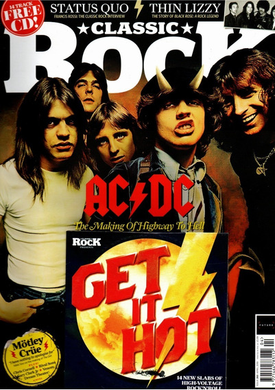 Classic Rock Revista Inglesa Ac/dc