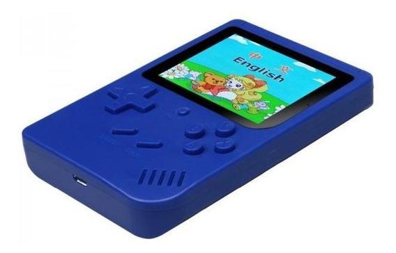 Mini Game Portátil Retro 300 Jogos Clássicos Lcd Azul
