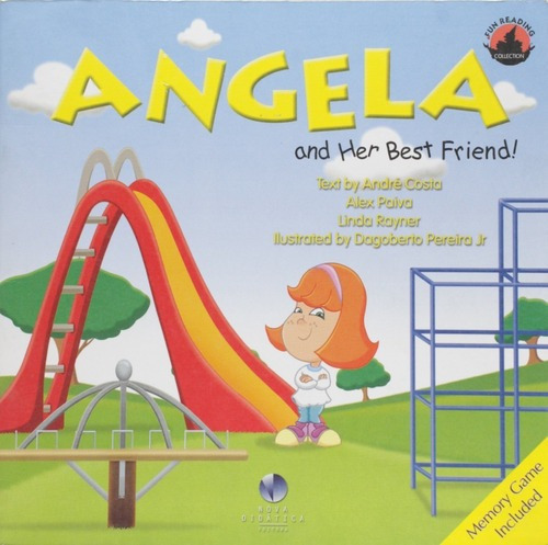 Imagem 1 de 2 de Livro Angela And Her Best Friend! - Inglês Para Crianças