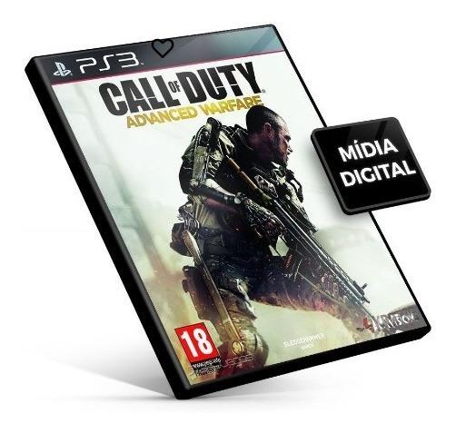 Call Of Duty Advanced Warfare Ps3 Midia Digital Jogo Psn