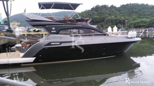 Lancha Triton 470 Fly Ñ Real Cimitarra Coral Azimut