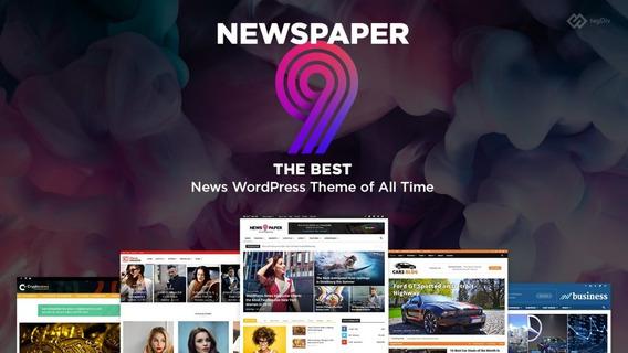 Newspaper 9.8 - Ativado - Tema Para Wordpress - Wordpress Theme - Tagdiv